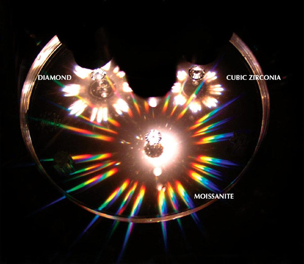 сравнение бриллианта и фианита