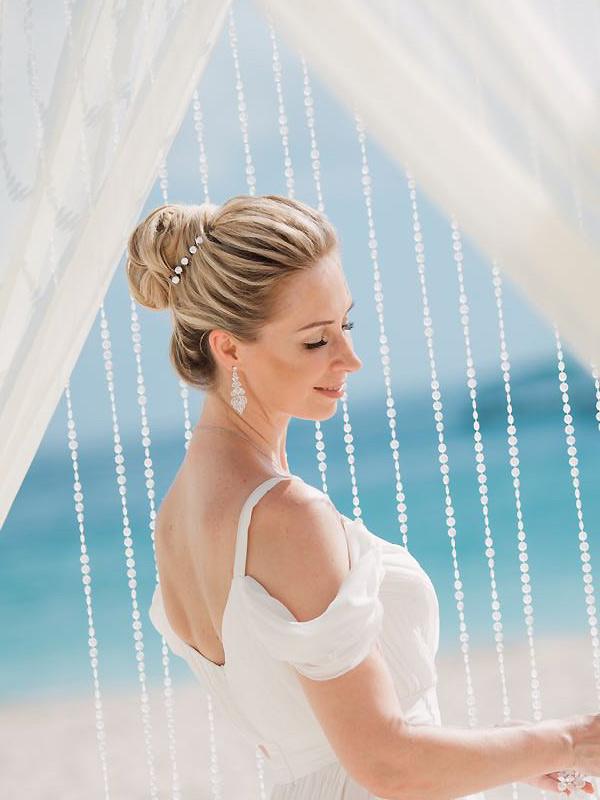 свадебные серьги купить