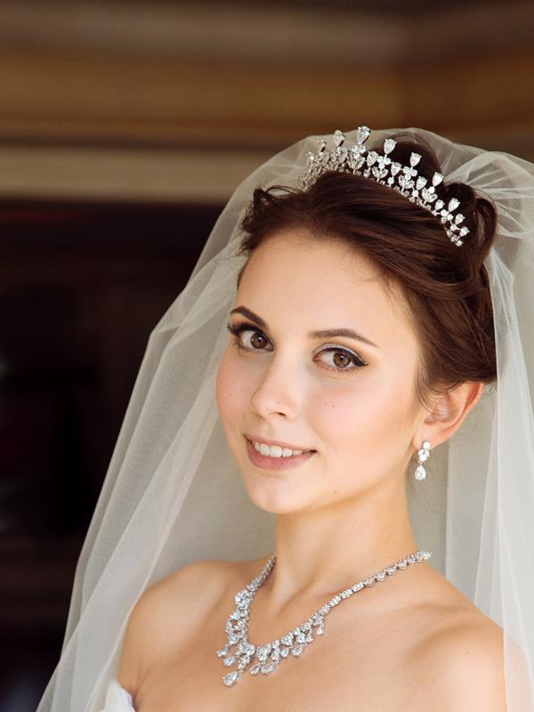 свадебные украшения на шею
